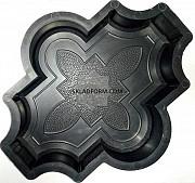 Формы для тротуарной плитки Клевер узорный 4, 5 см Днепр
