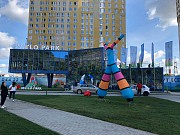 Надувные динамические фигуры – надувные зазывалы Киев
