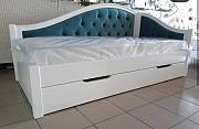 Деревянная кровать Полу софа доставка из г.Киев