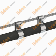 Тросовая, воздушная проводка кабеля Київ