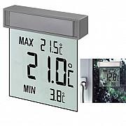 Электронные термометры, оконные термогигрометры, домашние метеостанции с гарантией из г. Киев