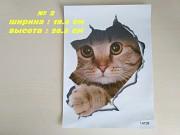 Наклейки котики номер 2 для детской комнаты <b>Доставка з м. Бориспіль</b>