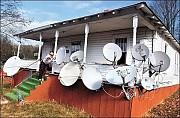 Установка спутникового телевидения и цифрового телевидения Т2 в Суворовском районе г. Одессы. Одесса