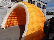 Надувная палатка Иглу Igloo inflatable tent украинского производства Киев
