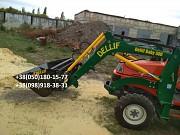 Фронтальный погрузчик на трактор Kubota saturn X 24. Запоріжжя