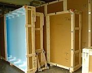 Коробка ящик бокс для перевозки и хранения картин из Двп. Украина. доставка из г.Киев