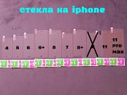 Стекло закаленное на iphone 4, 5, 6, 6+, 7, 7+, 8, 8+11, 11 Pro Max защита экрана из г. Борисполь