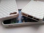 Чехол Бампер на iphone 5 Белый немного с лимонным оттенком из г. Борисполь