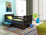 Симпатичная деревянная одноярусная кровать. доставка из г.Запорожье