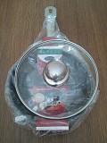 Экологическая сковорода 20 см. со стекл. крышкой - индукция на Подарок из г. Каменское (Днепродзержинск)