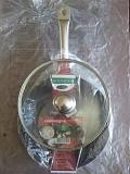 Экологическая сковорода 26 см. индукция со стекл. крышкой на Подарок из г. Каменское (Днепродзержинск)