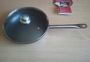 Сковорода 28 см. с крышкой - индукция, экологичная сковородка Подарок из г. Каменское (Днепродзержинск)