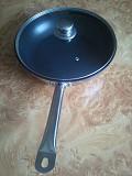 Экологическая сковорода 30 см. индукция с крышкой, пательня на Подарок из г. Каменское (Днепродзержинск)