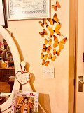 Бабочки №3 декор на холодильник, обои, зеркала из г. Борисполь