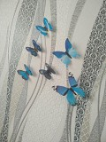 Бабочки №4 декор на обои, зеркала , холодильник из г. Борисполь