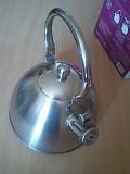 Индукционный чайник 3 литра со свистком, новый екологичний та стильний подарунок из г. Каменское (Днепродзержинск)