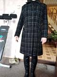 Пальто осеннее, ткань шотландка (р-р 46) из г. Ромны