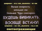 Наклейка на авто на заднее стекло авто доставка из г.Борисполь