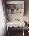 Стол Прованс с навесной полочкой