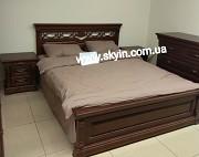 Деревянная кровать Элеонора доставка из г.Киев