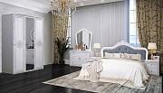 Классическая спальня Луиза белая с серебром из г. Киев