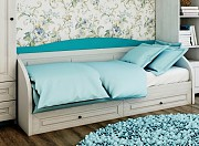 Кровать диван Адель с выдвижными ящиками доставка из г.Киев