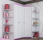 Угловой гардеробный шкаф Адель доставка из г.Киев
