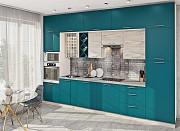 Кухня Эко с многоуровневыми верхними секциями доставка из г.Киев