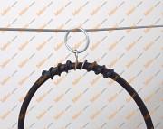 Тросовая, воздушная проводка кабеля. Подвеска кабельная У954....у961. из г. Киев