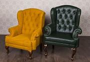 Кожаное классическое кресло Терри для кабинета, офиса, библиотеки доставка из г.Киев
