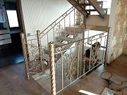 """Маршевые лестницы под отделку. """"броневик"""" Днепр"""