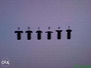 Винт, болт, гайка (микрокрепеж) М1, м1.2, м1.6, м2.5, м3 из г. Запорожье