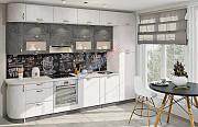 Кухня Хай тек с пленочными мдф фасадами из г. Киев