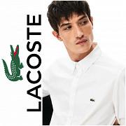 Lacoste. Мужская белая классическая рубашка. XL размер. Днепр