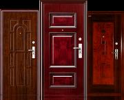 Двери металлические входные с накладками Мдф, дерево, шпон из г. Запорожье