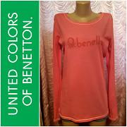 Benetton. Лонгслив, футболка с длинным рукавом. Размер L. из г. Днепр