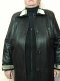 """Продам кожаное пальто женское """"antika"""". (разм.xxl, абсолютно новое с этикеткой) Донецк"""
