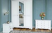 Белый спальный гарнитур Луи Филиппе из дерева из г. Киев