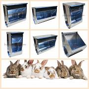 Безпечні багатосекційні годівниці для кроликів Харьков
