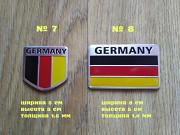 Наклейки на авто Флаг Германии алюминиевые на авто-мото из г. Борисполь