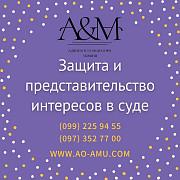 Защита и представительство интересов в суде из г. Харьков