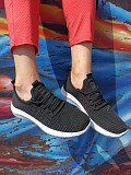 Мужские летние кроссовки сеточка черные 40 размер из г. Киев