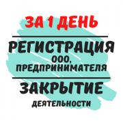 Регистрация Ооо, флп, ЧП (недорого) Ликвидация деятельности Днепр