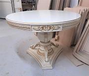 Эксклюзивный дубовый стол Шарм круглый раскладной из г. Киев