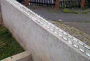 Накладка на забор колючая полоса Ежачок (тм) из г. Запорожье