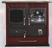 Отопительно-варочная печь 18 квт (красная) из г. Днепр