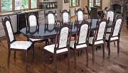 Классический стол Сонет со стульями с резьбой по дереву бук из г. Киев