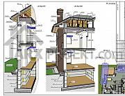 Индивидуальное проектирование домов, коттеджей из г. Днепр