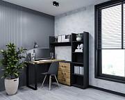 Письменный стол Соломон Лофт стиль с тумбой и этажеркой из г. Киев
