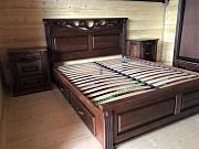 Дубовая кровать Беверли с тумбами из г. Киев